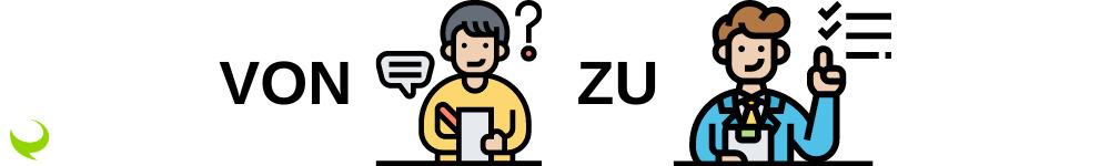 Hier sehen Sie einen E-Learning Konzepter, der Dank zentiMEDIA's Tipps gute Textideen hat.