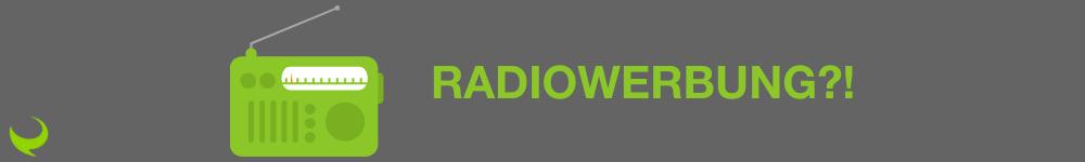 Hier sieht man ein Radio. Es stellt sich die Frage: Was ist das besonderen an Radiowerbung?
