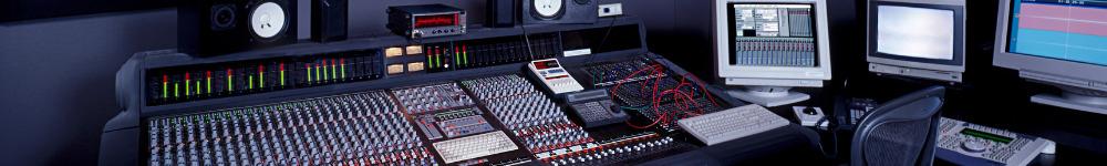 In diesem Foto sehen Sie ein klassisches Tonstudio, welches Sie auch bei zentiMEDIA finden.